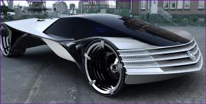Thorium powered car