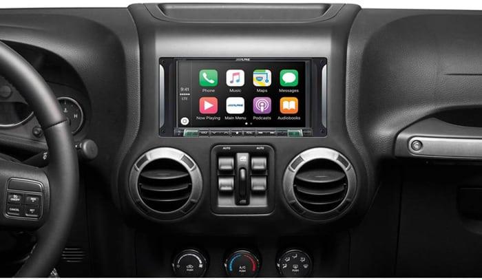 Aftermarket Radio For Jeep Wrangler