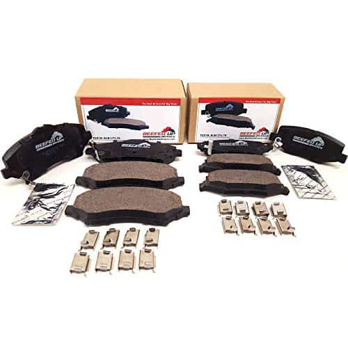 Beefed Up Brakes Premium Trail Rated Front and Rear Ceramic Brake