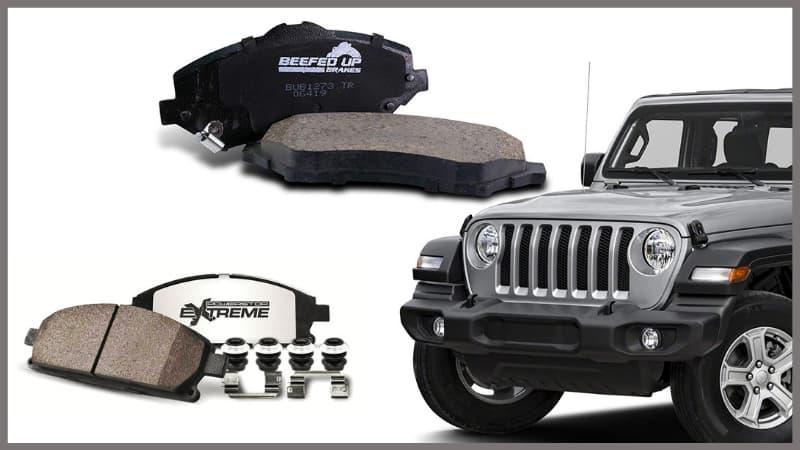 Best Brake Pads for Jeep Wrangler
