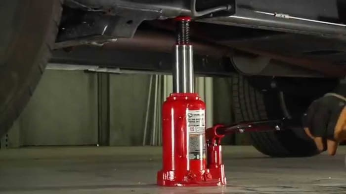 Bottle Jack For Lifted Jeep And Truck