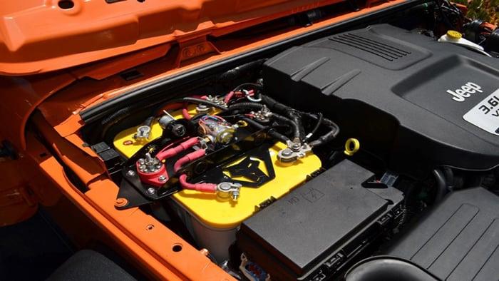 Jeep Wrangler Battery Size