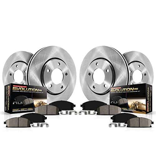 Power Stop Autospecialty Brake Rotors and Ceramic Pads