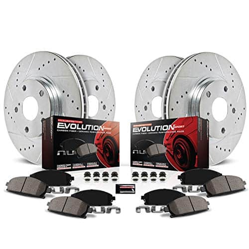 Power Stop Front and Rear Brake Kit