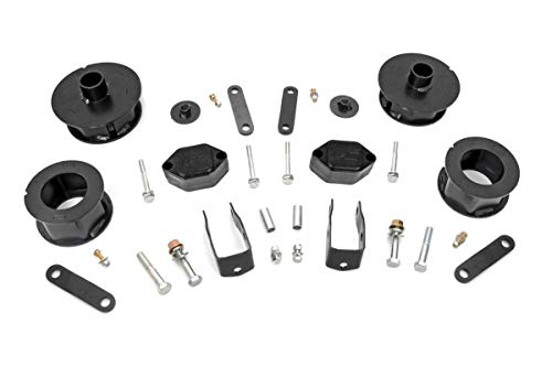 """Rough Country 656 2.5"""" Lift Kit 2007-2018 Jeep Wrangler"""