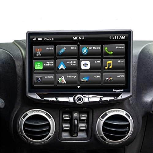 STINGER STH10JK Touchscreen Radio