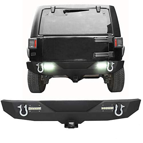 7Blacksmiths Rear Bumper for Jeep Wrangler JK