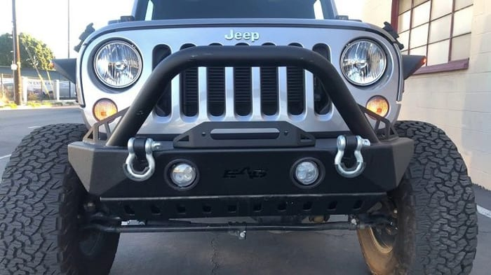 Front And Rear Jeep Bumper