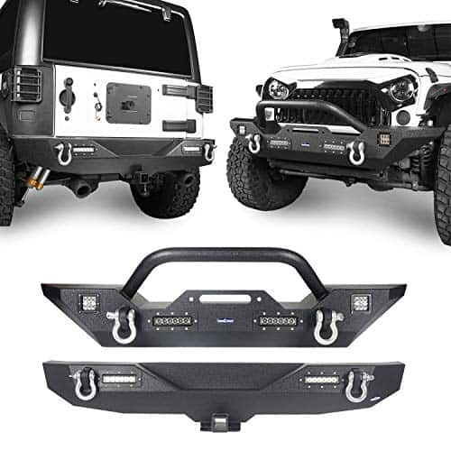 Hooke Road Jeep Front and Rear Bumper Combo