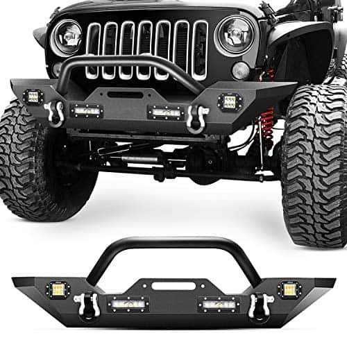 Nilight Front Bumper with LED lights