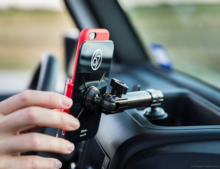 Cell Phone Mount For Jeep Wrangler