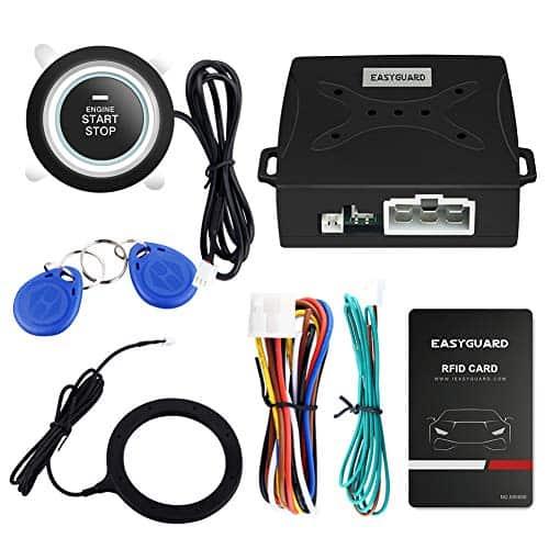 EASYGUARD EC004 Smart RFID Car Alarm System