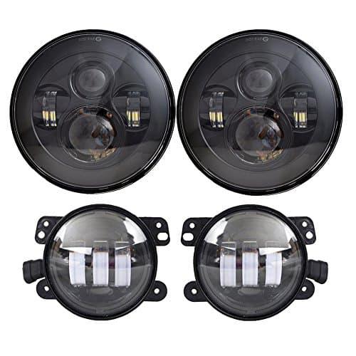 LX LIGHT BLACK LED HEADLIGHTS