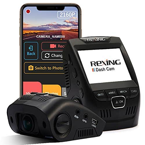 REXING V1 for Jeep recording