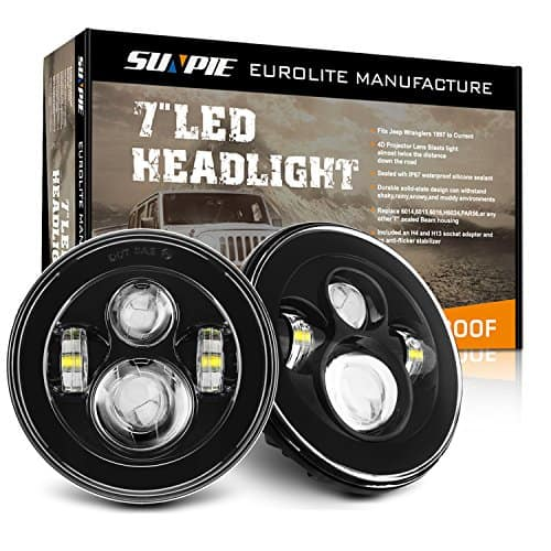 SUNPIE ROUND 7 INCH LED HEADLIGHTS