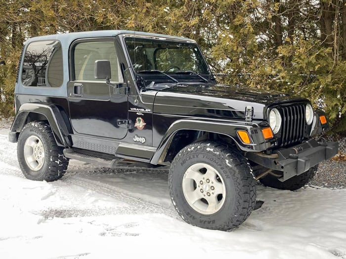 jeep wrangler models 2000