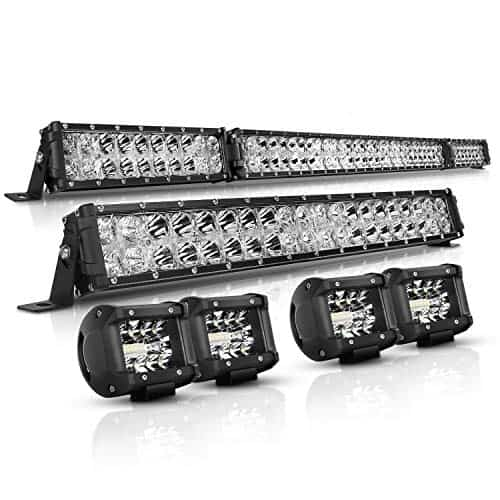 AUTOFEEL LED LIGHT BAR KIT FOR JEEP WRANGLER