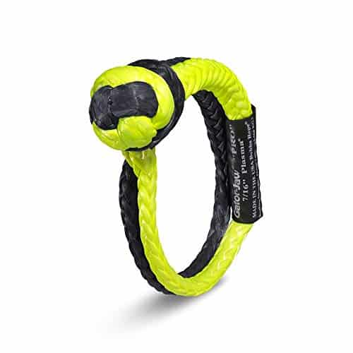 BUBBA KINETIC RECOVERY ROPE GATOR-JAW PRO SYNTHETIC SHACKLE