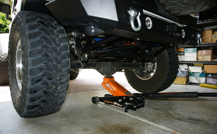Check the rear brakes