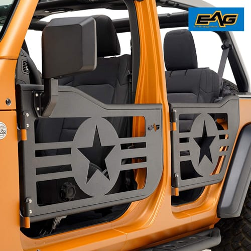 EAG Military Tubular Door with Reflection Mirror Fit