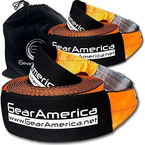 GEARAMERICA RECOVERY 2PK TOW STRAPS