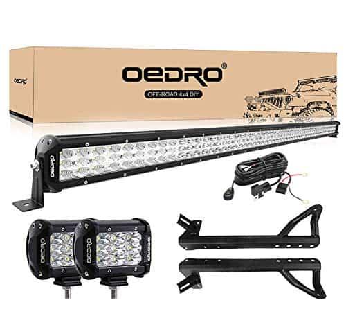 OEDRO LED LIGHT BAR FOR JEEP JK WRANGLER