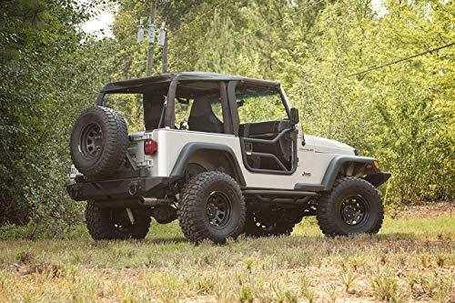 Rugged Ridge 11509.20 Tube Doors, Locking; 97-06 Jeep Wrangler TJ