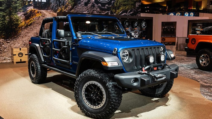 Special Edition Jeep Wranglers